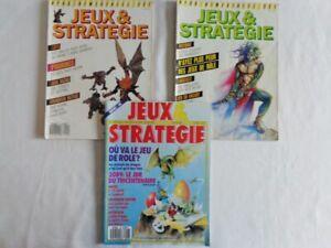 Lot magazines Jeux et Stratégie