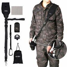 Camera Shoulder Strap Kit - Black Professional Quick Rapid Sling Belt with...