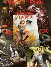 GRIMM FAIRY TALES PIPER #1-4 Comic Book LOT FULL SERIES +ONE SHOT DREAM EATER