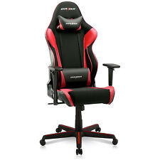 DXRacer Racing Ergonomic Computer Home Office Desk Gaming Chair, Black and Red
