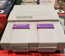 Super Nintendo SNES Mini Retro Game Console 821+ HD Classic Games Gift HDMI