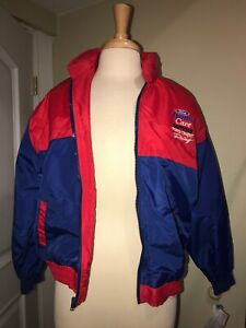 CHASE AUTHENTICS SZ XL FORD QUALITY CARE SERVICE BLUE KIDS RACING JACKET CCR