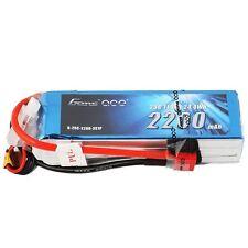 Gens ace 2200mAh 3S 11.1V 25C 50C Lipo Battery Pack Deans Plug Heli Glidder EPP