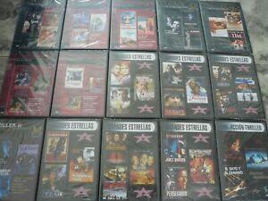 LOTE DE 120 PELICULAS EN 40 DVD CLASICOS  CINE DE MEDIANOCHE,ACCION, PRECINTADOS