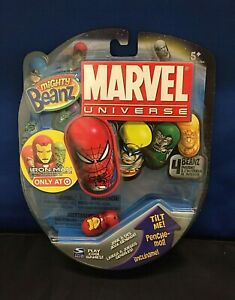 NEW SEALED Marvel Universe Mighty Beanz ~ 2010 ~ Iron Man Target Exclusive