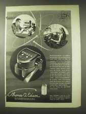 1948 Edison Electronic Voicewriter Ad - Executives