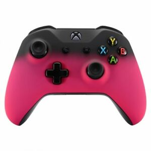"""""""Pink Shadow"""" Xbox One S / X Custom UN-MODDED Controller Unique Design"""