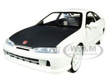 1995 HONDA INTEGRA TYPE-R JAPAN SPEC WHITE 1/24 DIECAST MODEL CAR BY JADA 30931