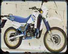 Benelli 125 Bx A4 Metal Sign Motorbike Vintage Aged