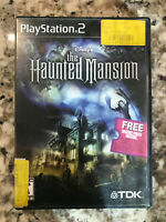 Disney's The Haunted Mansion Sony PlayStation 2 PS2 Video Game Complete Tested