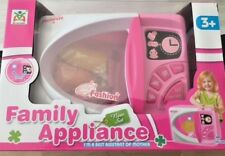 Kitchen tools Microwave Pink Oven Toy for Kids - Electronic Kitchen Play Set
