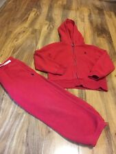 Ralph Lauren Boys Red Tracksuit Aged 5 Years Old