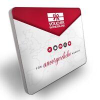 Geschenkverpackung - hochwertige Geschenkbox aus Aluminium - jetzt bestellen!