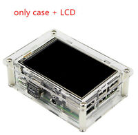 "3.5"" HDMI 1920x1080 LCD Display Screen for Raspberry Pi w/clear Case & Heatsink"