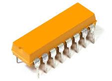 2x Bourns 4116R-001-391 390R Ohm Resistor Network Widerstands-Netzwerk DIP-16