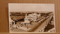 Postcard posted 1955 Lancashire, Southport, the pier and marine drive Real photo