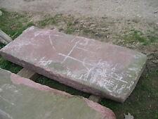 große alte Sandstein - Platte, Podest, roter Sandstein 200x70 - 16X34