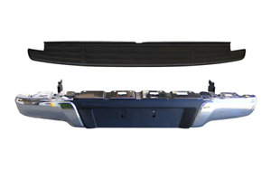 *NEW* REAR BAR & TOP FINISHER (GENUINE) for ISUZU D-MAX DMAX 6/2012 -ON *CHROME*