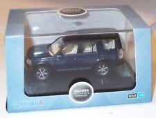 Oxford Diecast Blue Vehicles