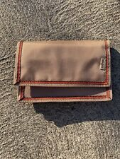 Vintage LEVIS Sand And Orange Colored Nylon Velcro Wallet!!!