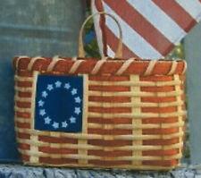 Basket Weaving Pattern Flag 2002 by Maurine Joy