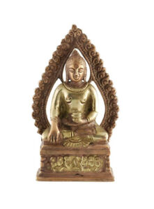 Stele Bodhisattva Messing Buddha Nepal Peterandclo D