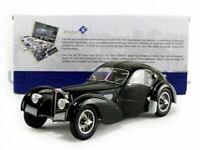 1:18 1937 Bugatti Atlantic Type 575C -- Black -- Solido