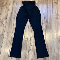 A Pea in the Pod Women's Black Maternity Dress Career Pants Size Small Flare Leg
