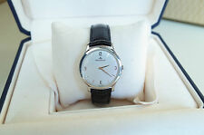 Preowned JAEGER LECOULTRE Master Thin 33mm Steel Deployant Clasp Box and Papers
