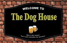 Personalised Home Pub Sign, Custom Bar Plaque, Outdoor Bar Sign, Home Bar Sign