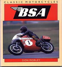 Classic Motorcycles, BSA by Don Morley, USED, Free Shipping