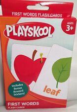 "PLAYSKOOL "" FIRST WORDS"" FLASH CARDS"