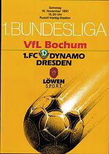 BL 91/92 Dynamo Dresden - VfL Bochum, 16.11.1991