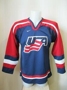 USA national team Size L Nike Ice Hockey jersey shirt United States of America