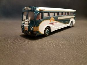 Corgi Classics New York World's Fair Yellow Coach 743; Kingston