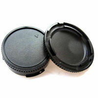 2pcs Body Cover Lens Rear Cap For CANON FD Camera Protect and Lens F5X I5N4