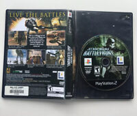 Star Wars: Battlefront (Sony PlayStation 2, 2004) PS2 Complete Cover Torn Off