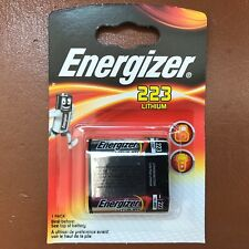 NEW Energizer 223 6V Lithium Photo Battery CR223 DL223 LONGEST EXPIRY DATE