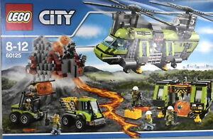 """LEGO® CITY 60125 Vulkan-Schwerlasthelikopt """"NEU & ORIGINAL VERPACKT"""" !!!!!!!!!!!"""