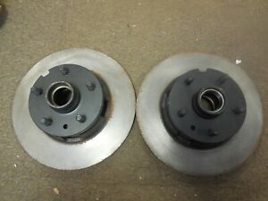 Used Original 1965-1967 Ford Mustang or Shelby Brake Rotors w/ Hubs