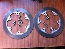 DISCHI FRENO ANTERIORI 4,4mm CON VITI brake disc discoteca FRENO HONDA VF 1000 F 2