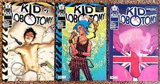 Kid Lobotomy #1-3 Retailer Incentive RI Variants IDW Black Crown