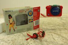 SonyMy First Sony WM-3060 Walkman /w accessories and original box