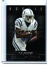 T.Y. HILTON RC #/10  2012 PANINI BLACK COLTS