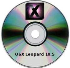 OSX  LEOPARD 10.5  dvd dL PER INTEL NO PPC