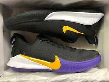 NEW Nike Kobe Bryant Mamba Focus Men Shoes Purple Gold SZ 11Los Angeles Lakers