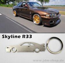 Nissan Skyline R33 Silhoutte Metall Anhänger GTS-T GT-R GTR RB26dett RB25 det