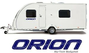 2 X BAILEY ORION ALU-TECH BODYSHELL DECALS STICKERS MADE IN ANY 2 COLOURS #014