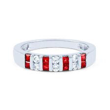 Princess Ruby Natural Fine Gemstone Rings