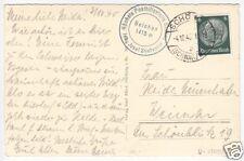 Posthilfsstellenstempel: Belchen, Schönau (Schwarzwald), 4.10.40